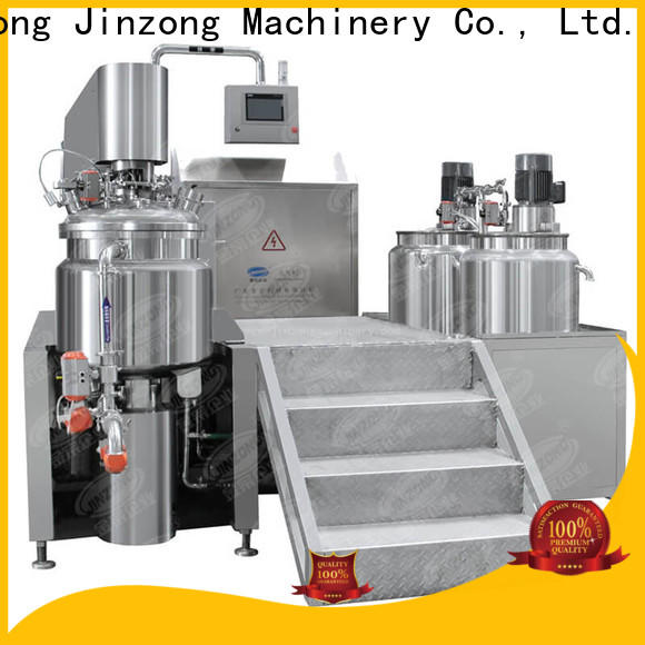 Jinzong Machinery precise equipment for cosmetic production manufacturers for paint and ink
