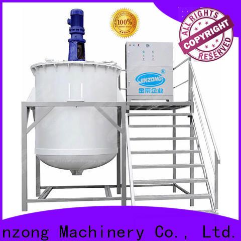 Jinzong Machinery liquid cosmetic cream making machine manufacturers for nanometer materials