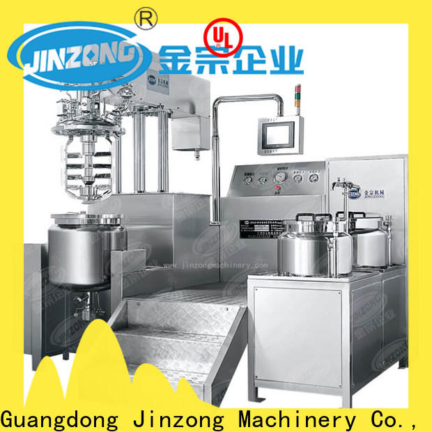 Jinzong Machinery jrf ointment manufacturing machine series for reflux