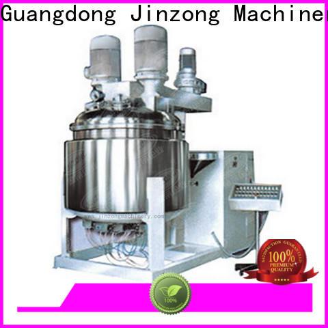 Jinzong Machinery storage cosmetics tools and equipments online for nanometer materials