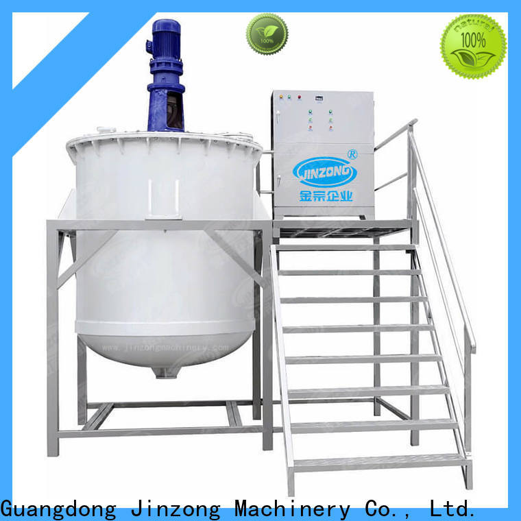 Jinzong Machinery emulsifying mixing tank design for business for paint and ink