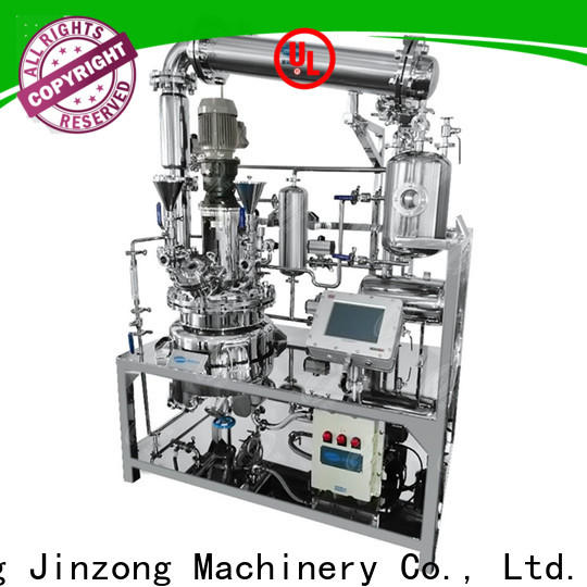 Jinzong Machinery ointment proteins hydrolysis process machine company for reflux