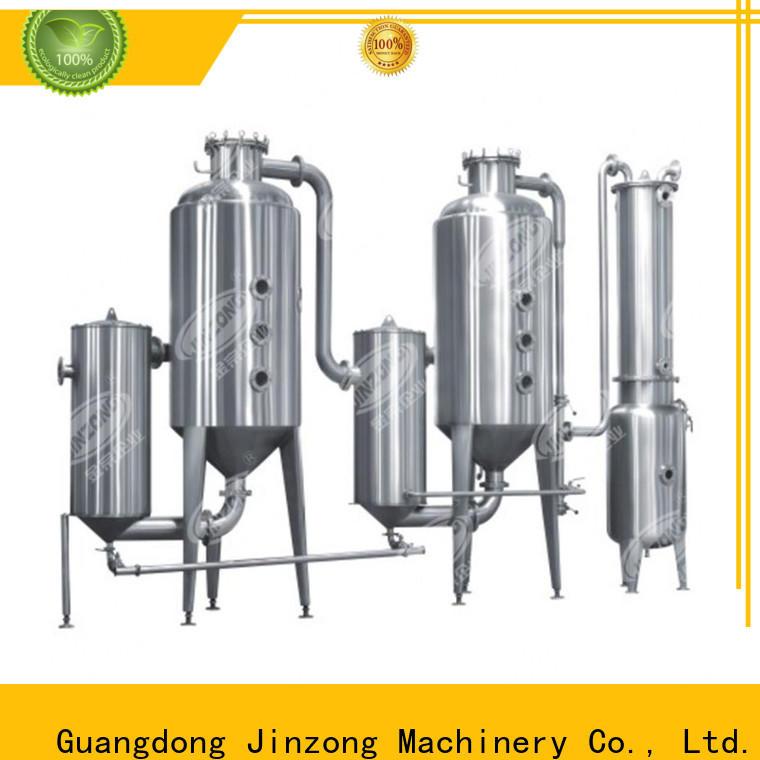 Jinzong Machinery wholesale distillation evaporator supply for pharmaceutical