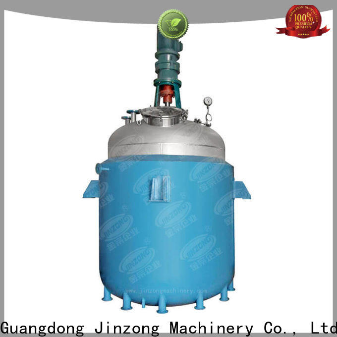 Jinzong Machinery medium anti-corossion reactor suppliers for distillation