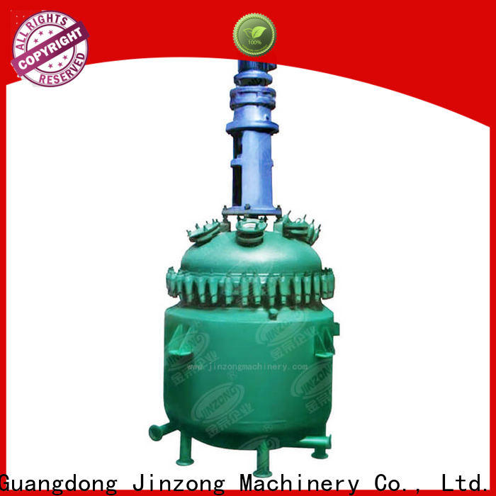 Jinzong Machinery technical jacketed reactor company for reaction