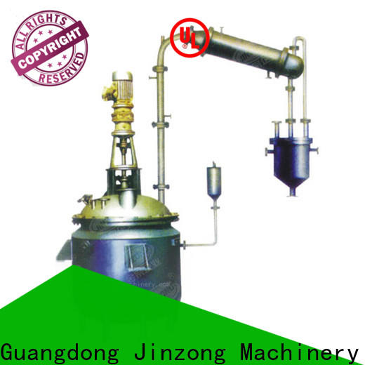 Jinzong Machinery New anti-corossion reactor company for chemical industry