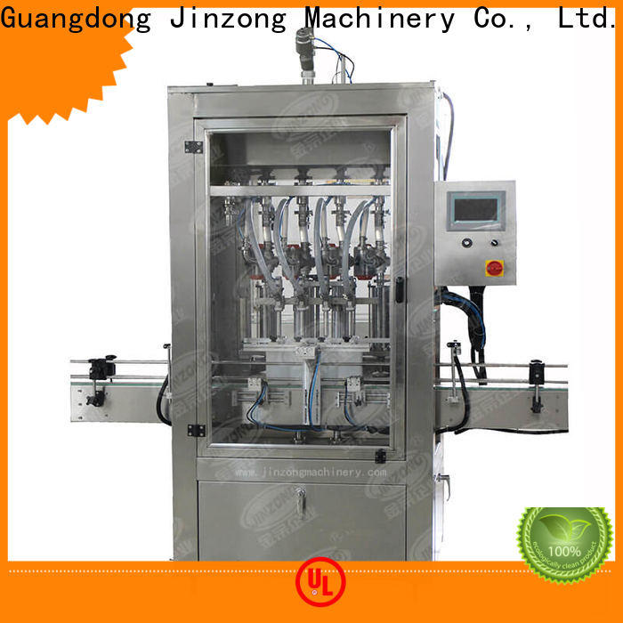 Jinzong Machinery storage cosmetic filling machine suppliers for nanometer materials