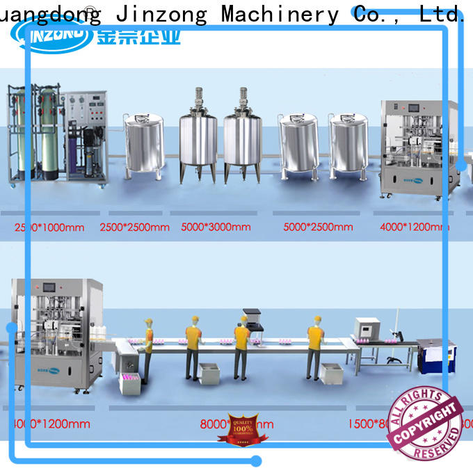 Jinzong Machinery water cosmetic cream manufacturing equipment online for paint and ink