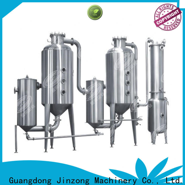 Jinzong Machinery multi function pharmaceutical equipment manufacturers for reaction