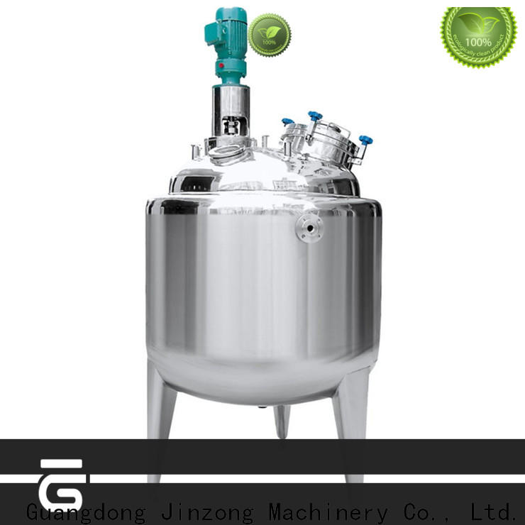 Jinzong Machinery good quality distillation concentrator company for pharmaceutical