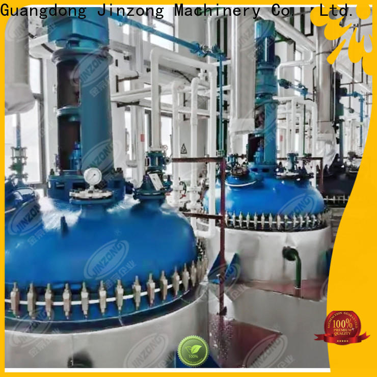 Jinzong Machinery good quality preparation of pharmaceutical process online for reflux
