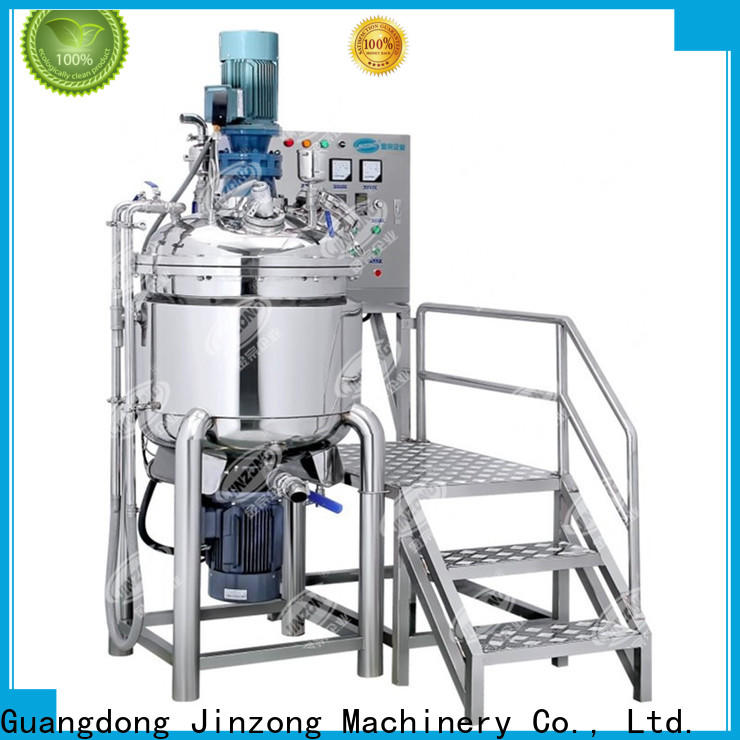 Jinzong Machinery making syrup liquid manufacturing vessel series for pharmaceutical
