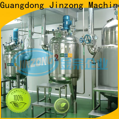 Jinzong Machinery jr pharmaceutical large infusion preparation machine system suppliers for food industries