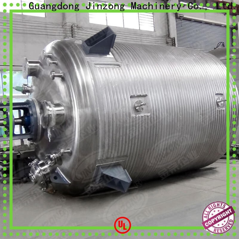 Jinzong Machinery stainless steel chemical machine online for stationery industry