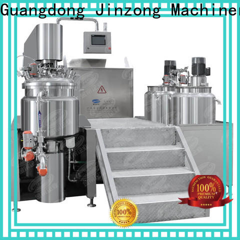 Jinzong Machinery top cosmetics equipment suppliers high speed for food industry