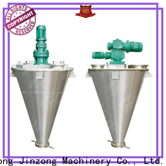Jinzong Machinery safe dry powder mixer manufacturers for industary