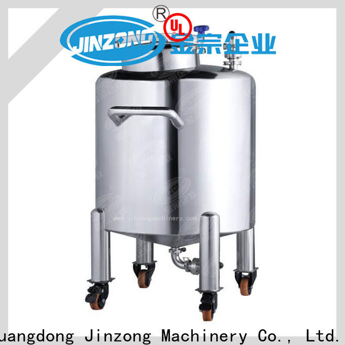 Jinzong Machinery wholesale stainless steel tank supply for petrochemical industry
