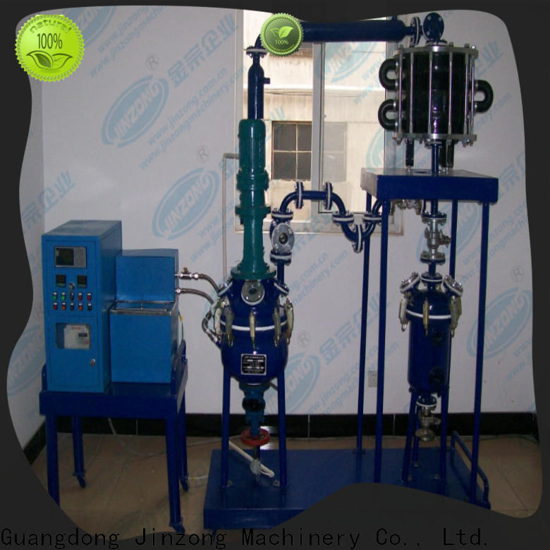Jinzong Machinery stainless steel glass-lined reactor Chinese