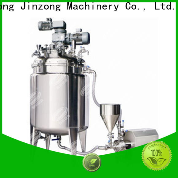 Jinzong Machinery accurate Hydrolysis reaction tank factory for reaction