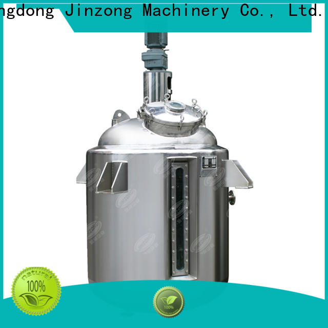 Jinzong Machinery ointment Pasteurization tank company for pharmaceutical