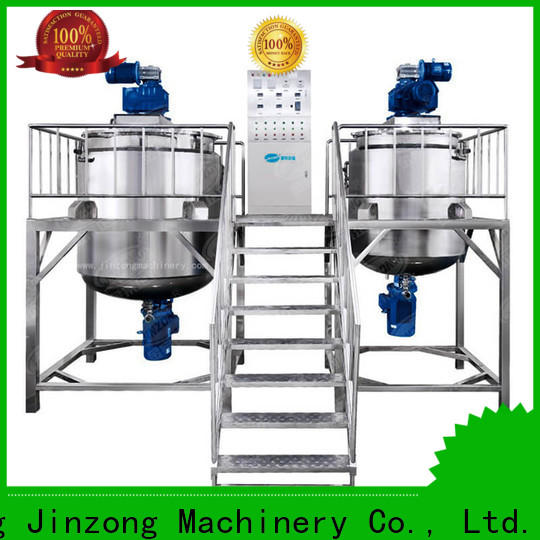 Jinzong Machinery pvc cosmetic cream manufacturing equipment suppliers for food industry