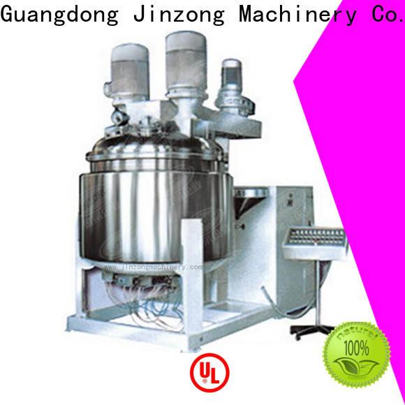 Jinzong Machinery washing cosmetic making machine supply for food industry