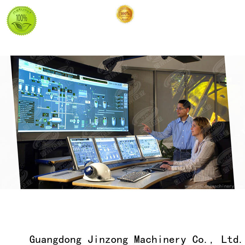 Jinzong Machinery custom the production system high-efficiency for workshop