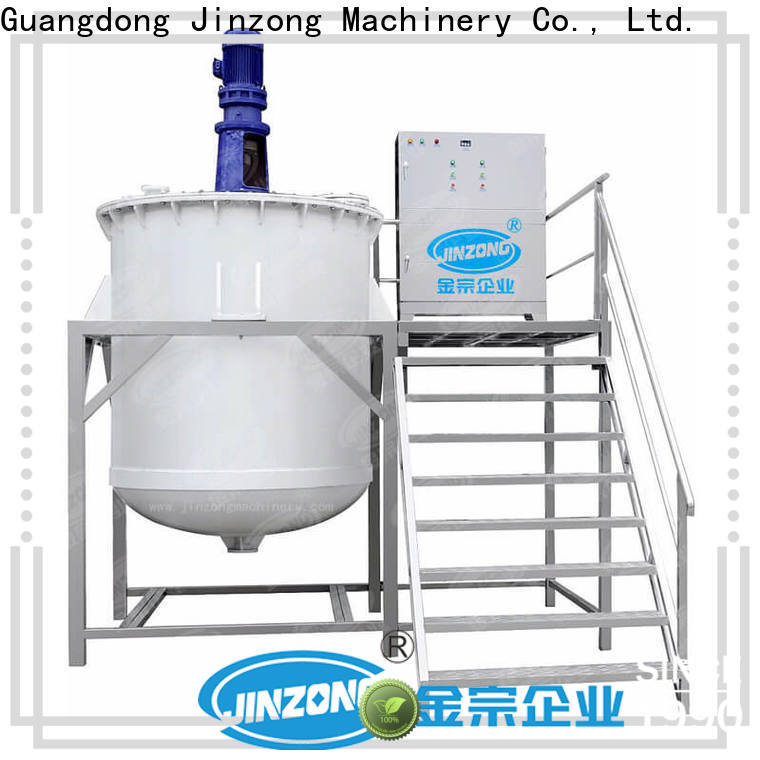 Jinzong Machinery labeling cosmetics tools and equipments manufacturers for paint and ink