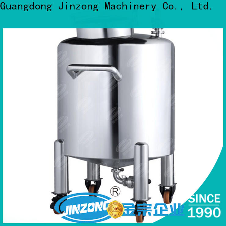 Jinzong Machinery jrf extraction and concentration tanks pilot plant suppliers for reflux