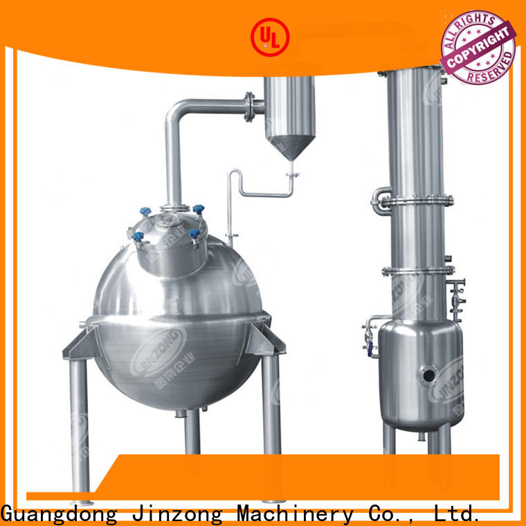 Jinzong Machinery jr Essential Oil Extractor series for reflux