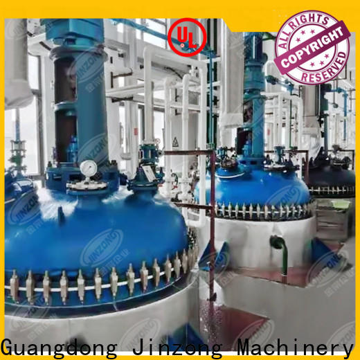 Jinzong Machinery making ointment filling machine series for reflux