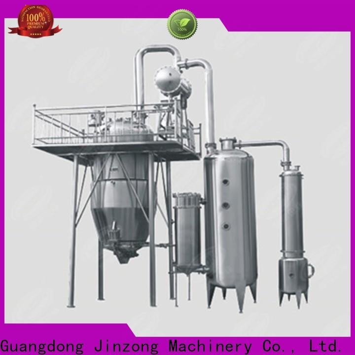 Jinzong Machinery series Essential Oil Extraction Machine factory for reaction