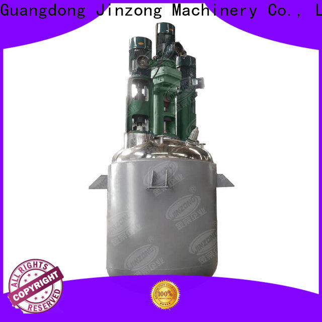 Jinzong Machinery wholesale chemical process machinery factory for reaction