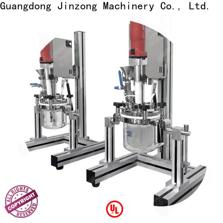 Jinzong Machinery latest Cosmetic cream homogenizer high speed for petrochemical industry