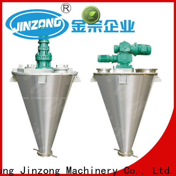Jinzong Machinery custom industrial powder mixer manufacturers