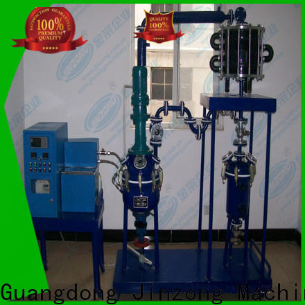 Jinzong Machinery stainless steel polyester resin reactor supply for distillation