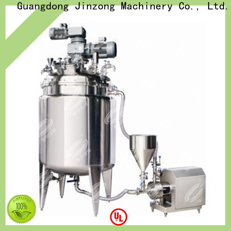 Jinzong Machinery jrf Hydrolysis reaction tank for sale for reflux