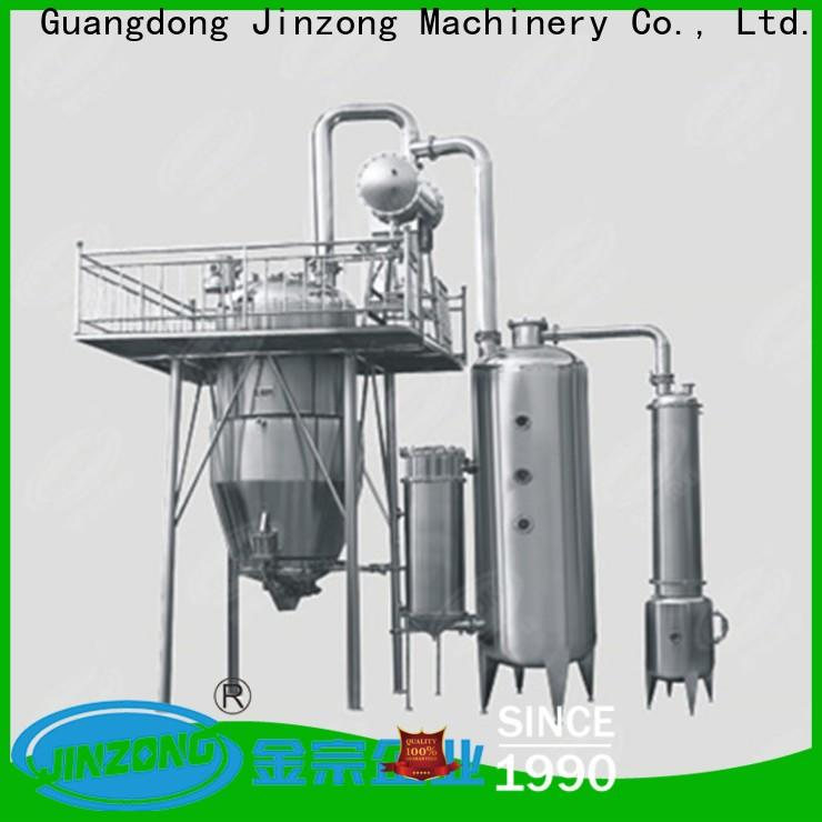 Jinzong Machinery yga pharmaceutical large infusion preparation machine system factory for reaction