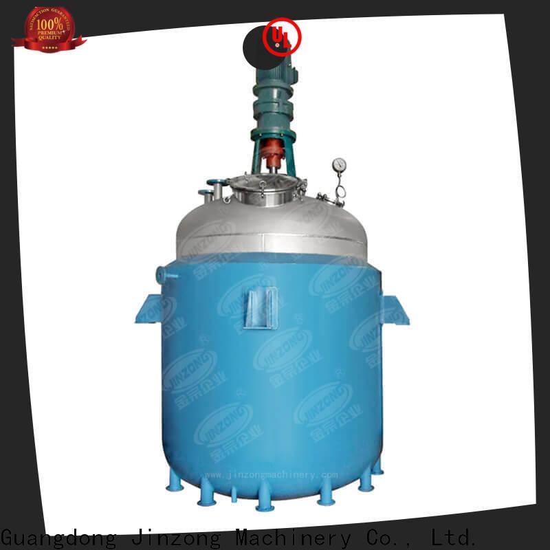 Jinzong Machinery technical pilot reactor manufacturers for reflux