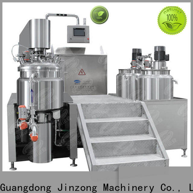 Jinzong Machinery wholesale stainless steel tank high speed for petrochemical industry