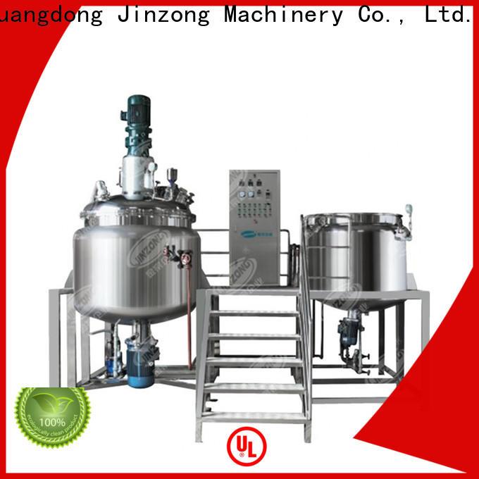 Jinzong Machinery vacuum reactor series for pharmaceutical