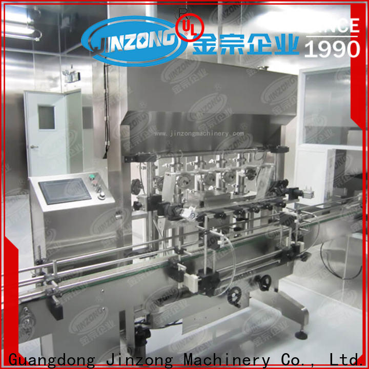 Jinzong Machinery practical cosmetic filling machine manufacturers for food industry