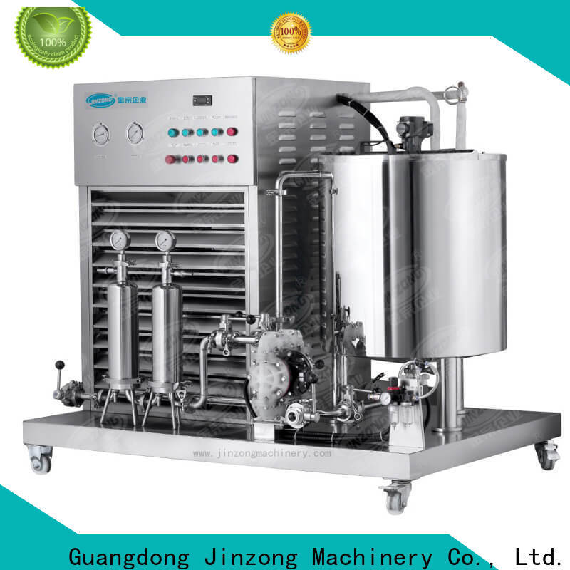 Jinzong Machinery best cosmetic making machine factory for food industry