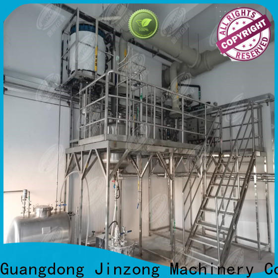 Jinzong Machinery yga ointment manufacturing machine for business for reflux