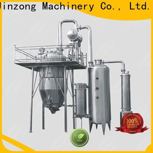 Jinzong Machinery custom Glass Lined Distillation Concentrator series for pharmaceutical