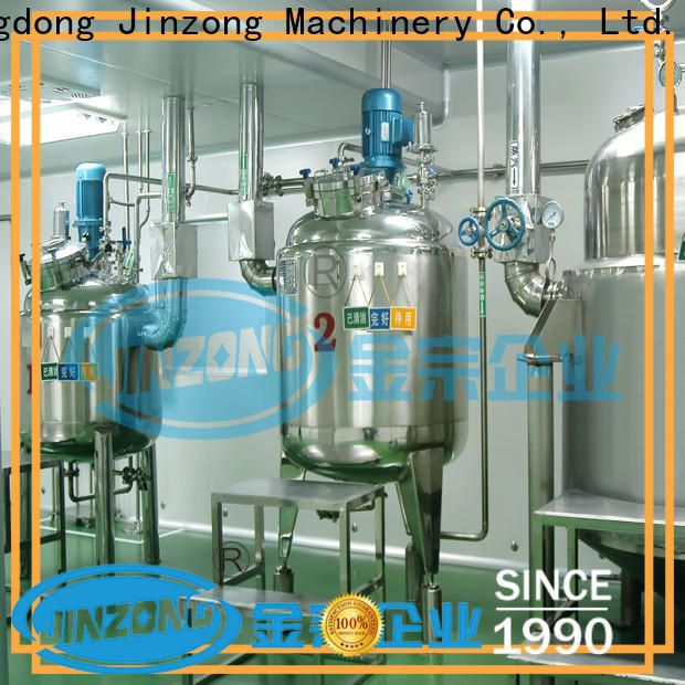 Jinzong Machinery multi function pharmaceutical excipients manufacturing machine company for reflux