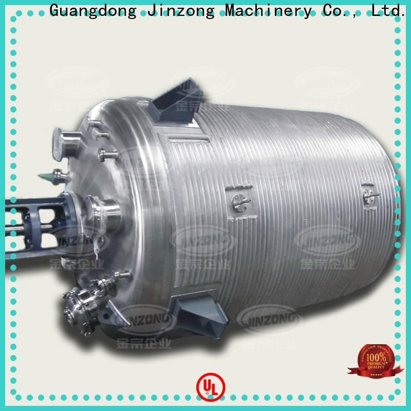 Jinzong Machinery carbon acylic resin reactor supply for The construction industry