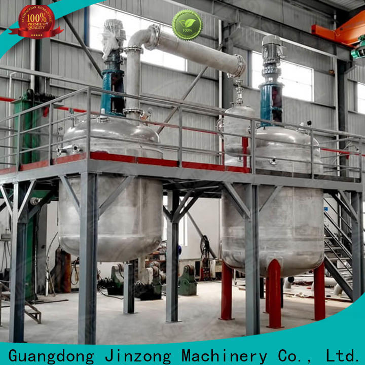 Jinzong Machinery exchangercondenser lab reactor Chinese for stationery industry