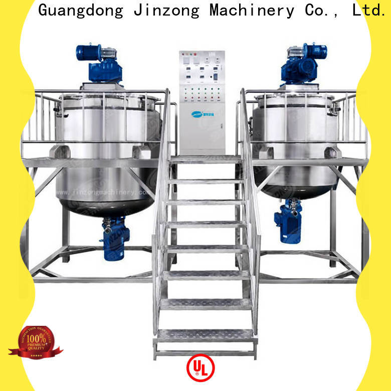 Jinzong Machinery top cosmetic mixer equipment wholesale for petrochemical industry