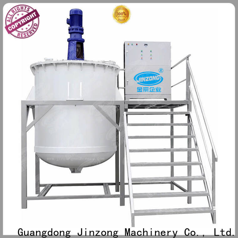 top chemical mixing tank homogenizing high speed for food industry
